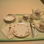 Edsel & Eleanor Ford House  - room service china