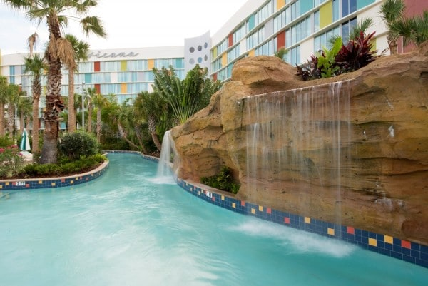 Cabana Bay Beach Resort  - lazy river