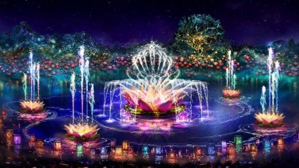 Disney World River of light
