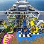 Harmony of the Seas water slides