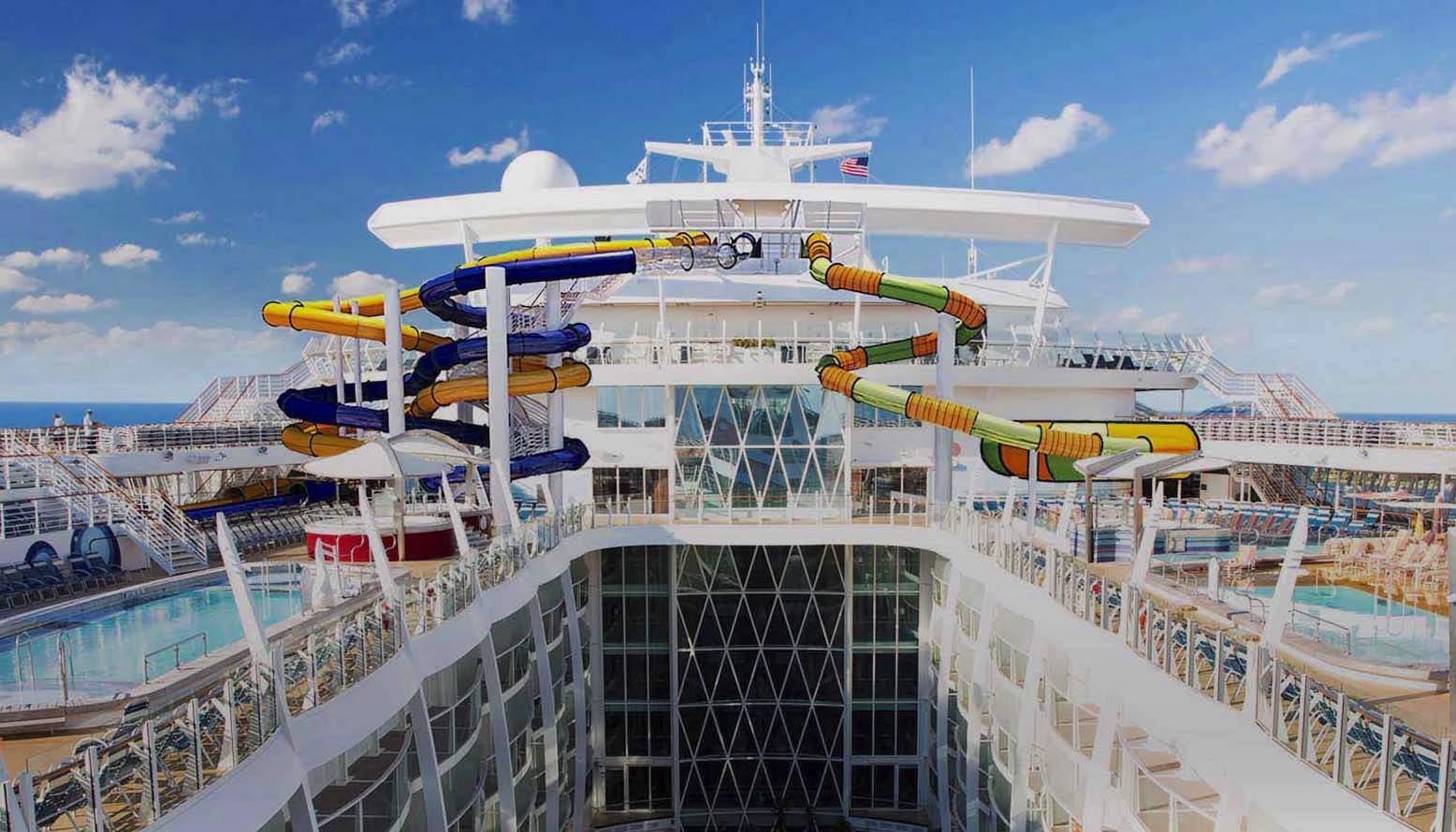 Harmony of the Seas, Kapal Pesiar Terbesar Di Dunia | MLDSPOT Oasis Of The Seas Comparison
