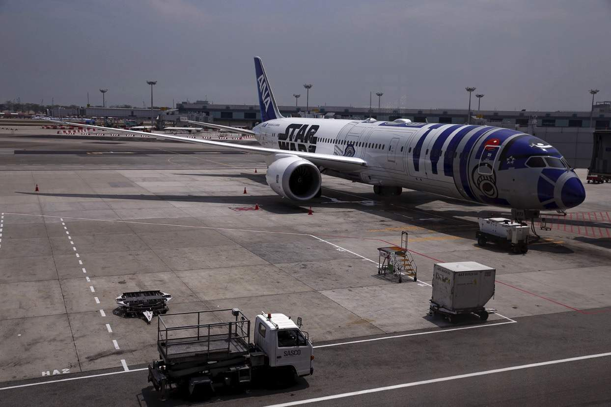 Could the star wars plane be the coolest plane ever for Interieur d avion