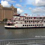 Savannah Georgia - Savannah River boat