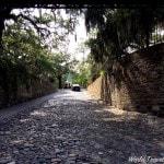 Savannah Georgia - cobblestone streets