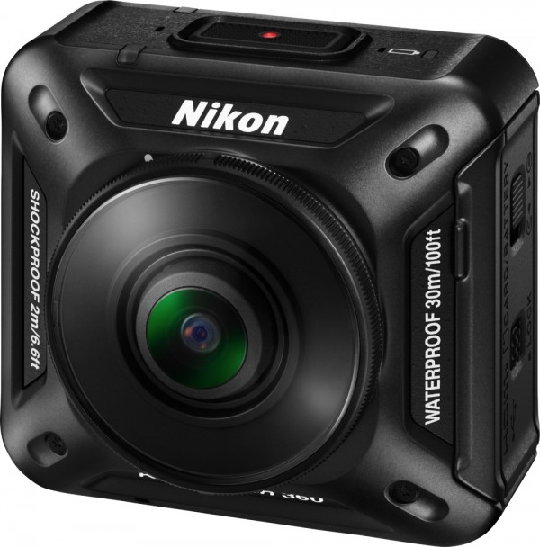 Nikon KeyMission360 - front left