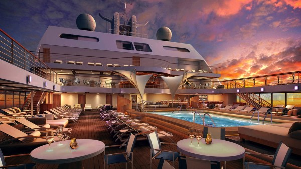 Seabourn Encore - main deck