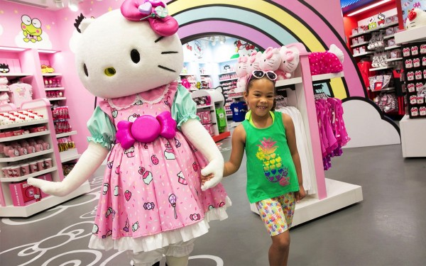 Hello Kitty Shop Featuring Hello Kitty and Friends - UNiversal Orlando FL