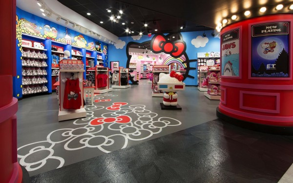 Hello Kitty Shop Featuring Hello Kitty and Friends - Universal Orlando