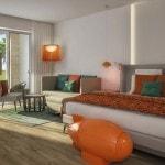 Nickelodeon Hotels & Resorts in Punta Cana - jacuzzi swim up pad