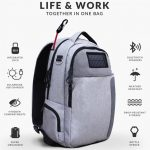 Lifepack - Solar Powered & Anti-Theft Backpack