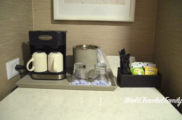 Disney's Beach Club Resort ~ Room Tour -beverage station