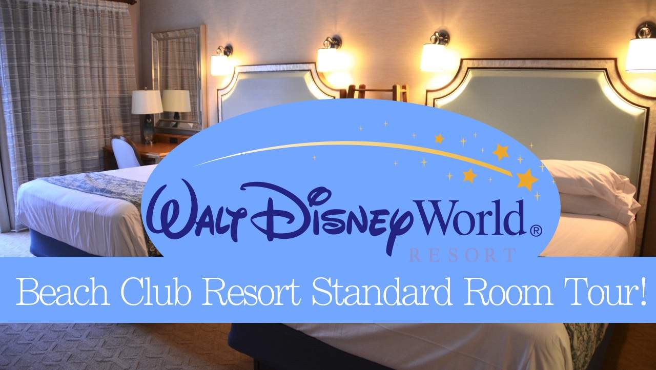 Disney's Beach Club Resort Standard Room Tour