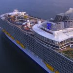 The World's Largest Cruise Ship - Harmony Of The Seas - Arrives In Southampton