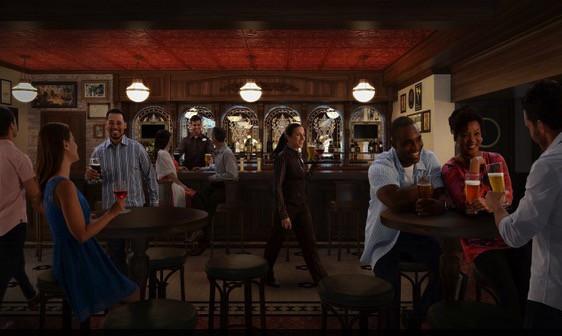 Disney Wonder Pub