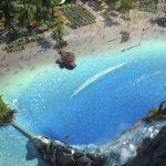Volcano Bay Universal Orlando water park - beach area