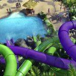 Volcano Bay Universal Orlando water park - water slides