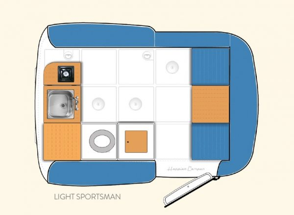 Happier Camper - inside configurations