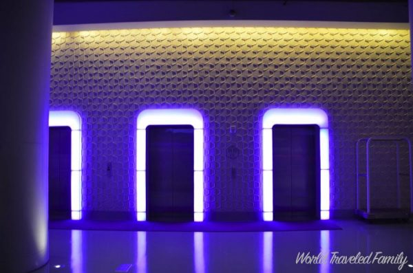 Yotel NYC Cabin Review - elevators