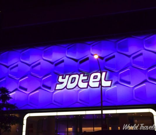 Yotel NYC Cabin Review - outside