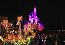 Walt Disney World's Electric Parade - 2016