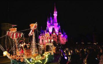 Walt Disney World's Electric Parade - 2016