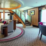 Queen Mary 2 Queen's grill Balmoral Suite