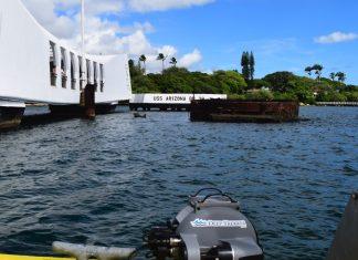 Deep Trekker At USS Arizona Hawaii