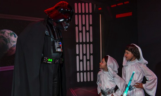 Star Wars Day At Sea - meeting Darth Vader
