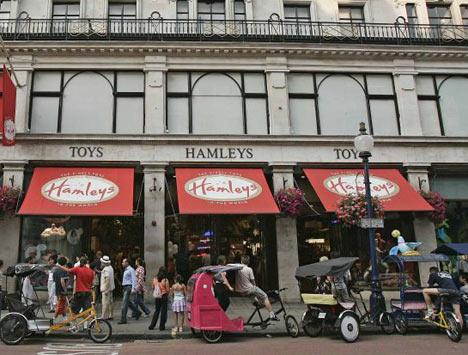 5 Destinations around London That Are Perfect to See With Your Kids: Hamleys