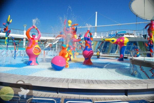 Freedom of The Seas H20 Zone