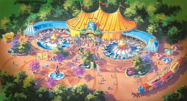 Details of Walt Disney Fantasyland Expansion Revealed
