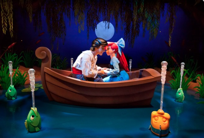 The Little Mermaid Comes to Life in New Disneyland Attraction