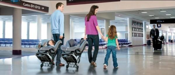 The Britax Car Seat Travel Cart