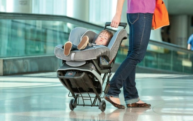 britax introduces car seat travel cart world traveled family. Black Bedroom Furniture Sets. Home Design Ideas