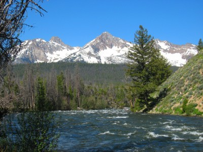 Idaho's Salmon River is Flowing White and Rapid This Season