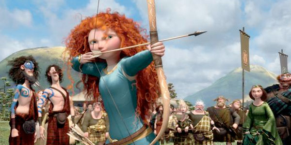 Merida Coming To A Theater and A Disney Park Near You!