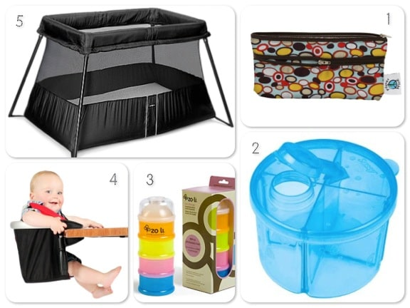 10 must have items for parents traveling with a baby world traveled family for Travel gear for toddlers