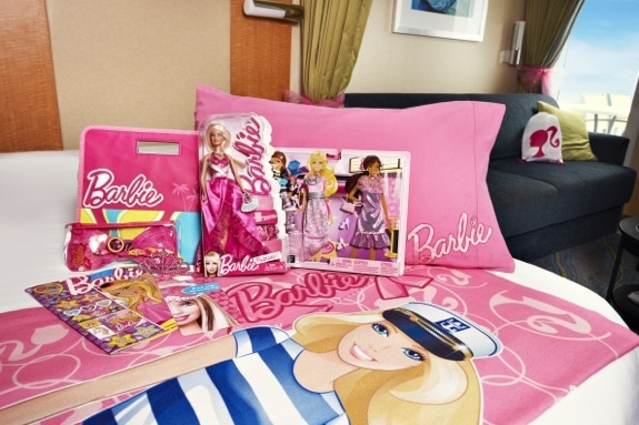 A Barbie stateroom - Royal Caribbean