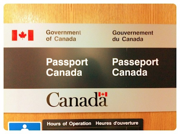 Canadian passport office