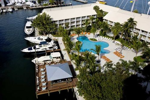 Hilton Ft. Lauderdale Marina - overhead
