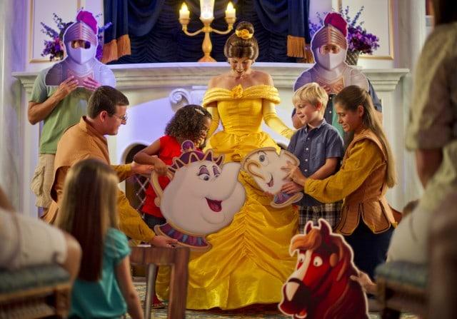 Walt Disney World FantasylandEnchanted Tales with Belle