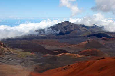 Beautiful Haleakala National Park Maui Island Hawaii