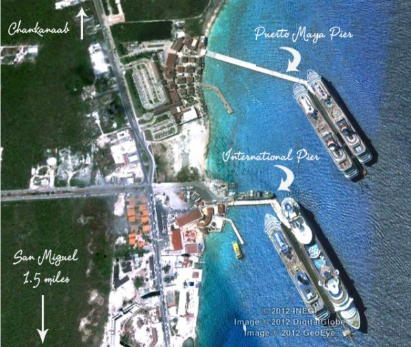 Cruise Piers Cozumel