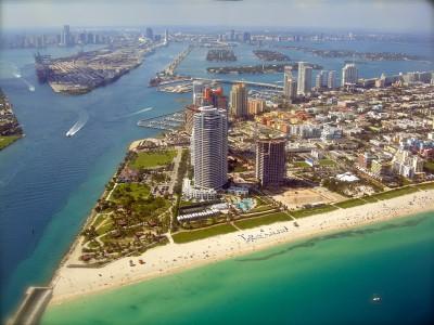 Miami beach - aerial