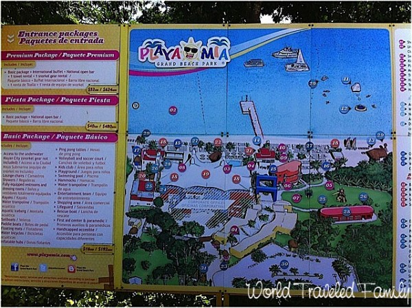 Playa Mia Beach Club Cozumel - map of property