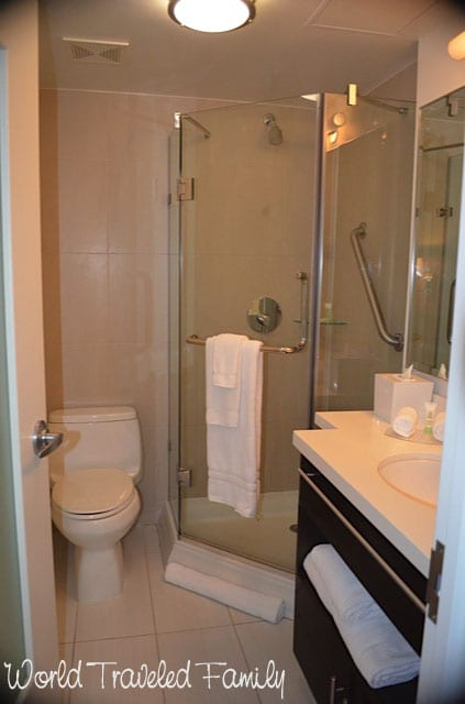 Staybridge Suites Times Square Bathroom World Traveled Family