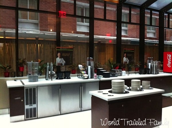 Staybridge Suites Times Square - breakfast kitchen