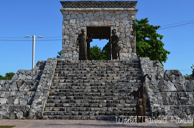 Mayan Pyramid San Miguel Cozumel World Traveled Family