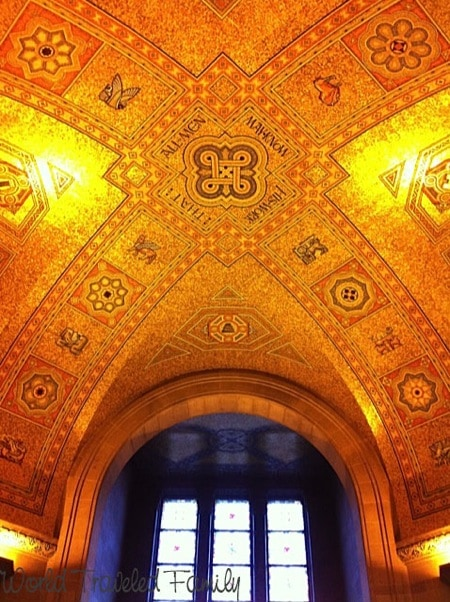 Interior Roof of the Royal Ontario Museum