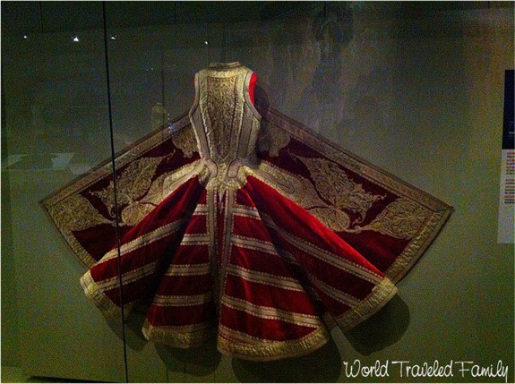 Royal Ontario Museum - Albanian silk woman's sleeveless jacket
